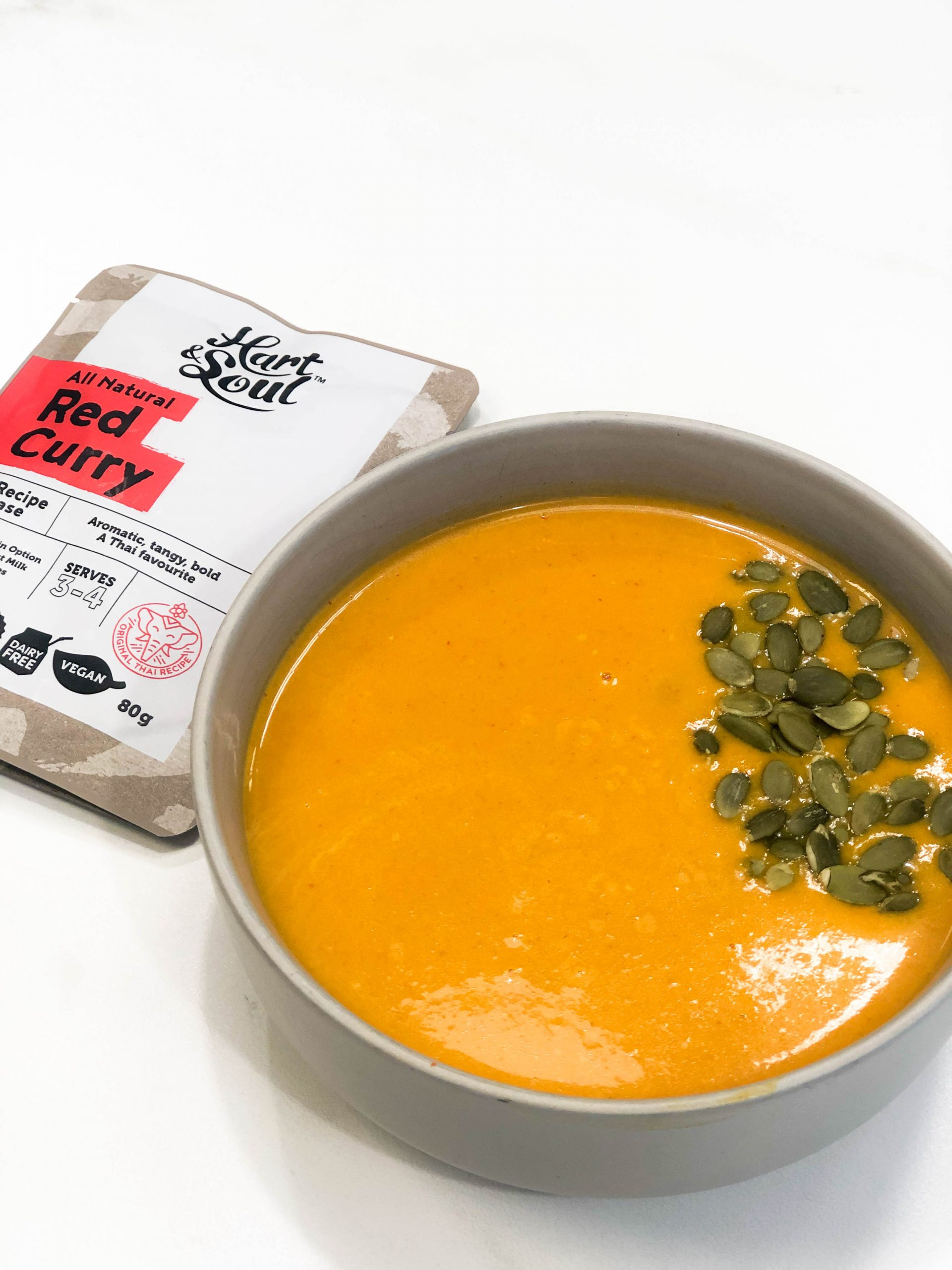 RED CURRY BUTTERNUT SOUP