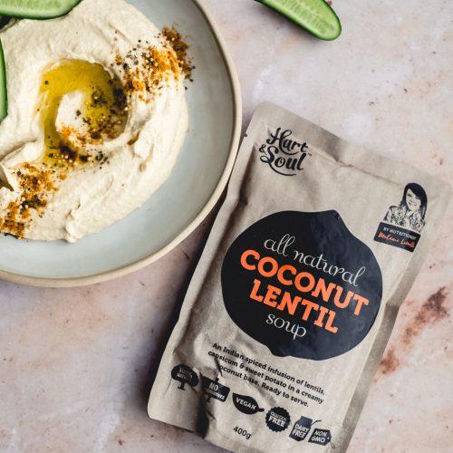 Coconut Lentil Hummus